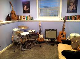 decorating pleasing cool music room ideas for your hobbies rooms