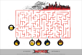 free printable lego maze lego ninjago printables coloring pages and activity sheets