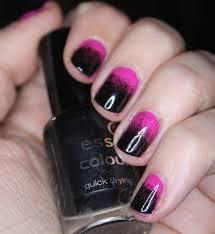 black and pink nail art u2013 slybury com