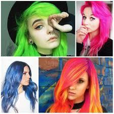 crazy neon hair colors for 2017 u2013 best hair color ideas u0026 trends