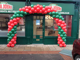 twirl arch for shop opening shop opening balloons pinterest