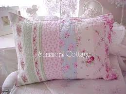 the painted cottage beach blue pink roses shabby cabana chic