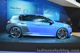peugeot 308 2015 peugeot 308 r hybrid auto shanghai live