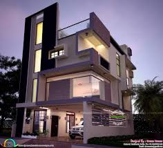 apartments 3 floor building design narrow homes designs the