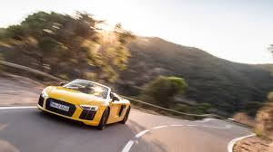 Audi R8 Drift - 2016 audi r8 spyder review open air v10 thunder motoring research