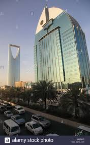 modern buildings riyadh saudi arabia stock photo royalty free