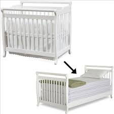 Davinci Emily Mini Crib White Davinci Emily Mini Convertible Wood Baby Crib Set W Size Bed