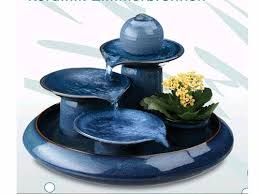 porcelain water fountain home decoration tableware tabletop id