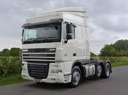 daf xf 105 460 6 x 2 tractor unit