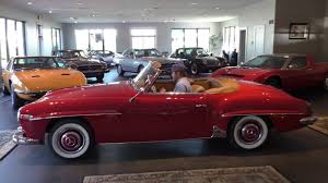 classic red mercedes 1959 mercedes benz 190sl roadster from daniel schmitt u0026 co youtube