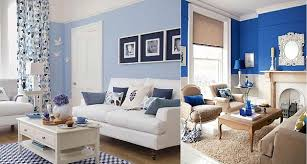 blue livingroom royal blue and white living room modern house