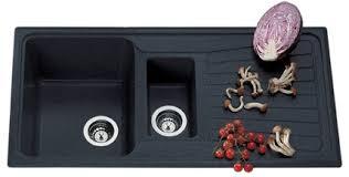 Buy Nirali Quartz Granio Kitchen Sink Black Granite Features - Nirali kitchen sinks