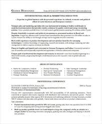Sales And Marketing Resume Professional Sales Resume Templates 31 Free Word Pdf Document