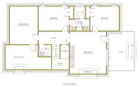 Finished Basement Floor Plan Ideas Basement Layouts Basements Ideas