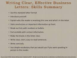Business Letter Format Book Pdf Writing Clear Effective Business Letters Skills Summary