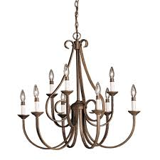 Classic Chandelier by Classic Twirl Chandelier 9 Light Shades Of Light