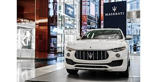 maserati maserati israel maserati joins holiday festivities in new york city with levante