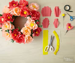 diy paper flowers centerpieces paper flowers and wreaths