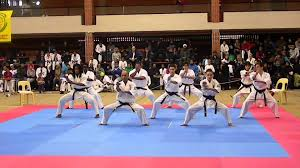 Barnes Karate Sushiho Kata Performed By Cape Town Len Barnes Memorial
