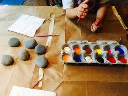 summer craft project that gives back kindness rocks