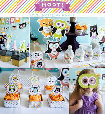 owl birthday party hoot owl birthday party on a budget printable crush