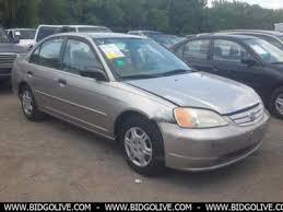 used 2001 honda civic lx sedan 4 door car from iaa auto auction
