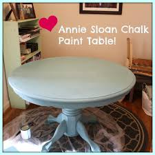 Painted Dining Table by Chalk Paint Dining Room Table Chalk Paint Table Annie Sloan