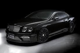 bentley blacked out wald bentley continental gt black bison edition after sportsline
