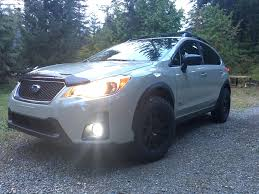 subaru crosstrek lifted pre lift mr502 u0027s and 215 75 15 bfg k02 u0027s xvcrosstrek