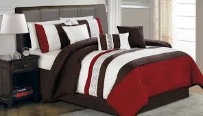 Exotic Comforter Sets Bedding Set Horrible Red Comforter Sets King Size Gorgeous Red