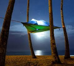 tentsile tree tent a hovering hammock tent that connects to three
