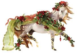 amazon com breyer bayberry and roses 2014 holiday horse toys