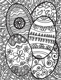 abstract easter coloring pages abstract doodles free easter printables 5 easter coloring