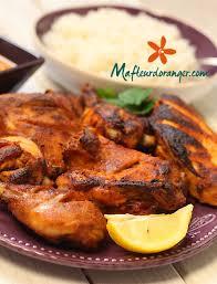 cuisine indienne poulet indienne poulet tandoori et sa sauce épicée