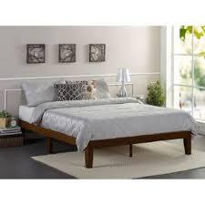 Wooden Framed Beds Solid Base Platform Bed Wayfair