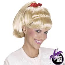 Halloween Costumes Wigs Grease Sandy Ponytail Wig Halloween Costumes Grease Sandy