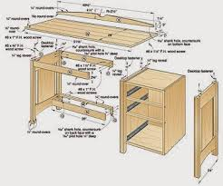 Desk Plans Diy 25 Creative Diy Computer Desk Plans You Can Build Today Diy