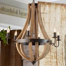 wine barrel porch light for sale wooden wine barrel stave chandelier shades of light