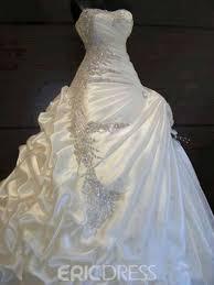 beading wedding dresses ericdress exquisite gown beading wedding dress 10903439