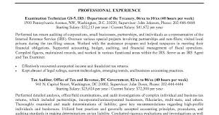 Federal Jobs Resume Examples by Federal Job Resume Samples Sample Resumes