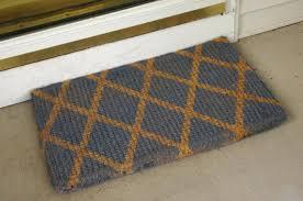 front door rugs rug size good looking mats designed creative