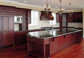 Kitchen Cabinet Cherry Kitchen Floors And Cabinets Tile Kitchen Floor With Light Cherry