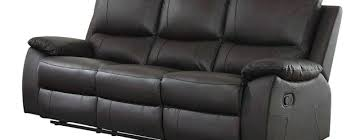 Reclining Leather Armchairs Leather Sectional Recliner Sofa With Cup Holders Black Bed Set