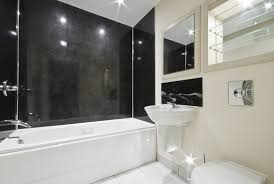 Bathroom Tile Black And White - 21 black and white bathroom design ideas paired with modern