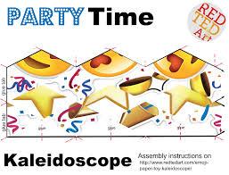 emoji paper toy kaleidoscope red ted art u0027s blog