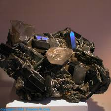 Periodic Table Tungsten Wolframite A Sample Of The Element Tungsten In The Periodic Table