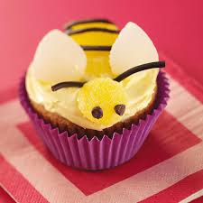 bumble bee cupcakes bumblebee banana cupcakes recipe taste of home