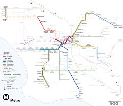 Valley Metro Light Rail Map by There Should Be A Subway Down Ventura Blvd Losangeles