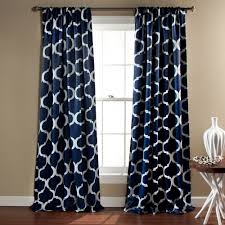 Hypoallergenic Curtains Decor 2 Pack Geo Blackout Window Curtains 52 U0027 U0027 X 84 U0027 U0027