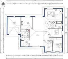 Plan De Maison En Longueur Longueur